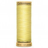 Col.0349 Gutermann Cotton 100m Pale Yellow