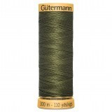 Col.0424 Gutermann Cotton 100m  Moss Green