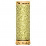 Col.0437 Gutermann Cotton 100m Dirty Yellow