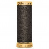 Col.0513 Gutermann Cotton 100m Stainless Steel Grey