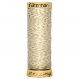Col.0519 Gutermann Cotton 100m Off White