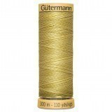 Col.0638 Gutermann Cotton 100m Cream Yellow