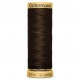 Col.1613 Gutermann Cotton 100m Deep Brown