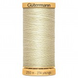 Col.0828 Gutermann Cotton 250m Pale Sunshine
