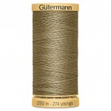 Col.1015 Gutermann Cotton 250m Dark Mushroom