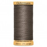 Col.1225 Gutermann Cotton 250m Medium Brown