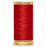 Col.1974 Gutermann Cotton 250m Bright Red