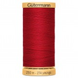 Col.2074 Gutermann Cotton 250m Blood Red