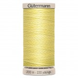 Col.349 Gutermann Hand Quilt 200m Pale Yellow