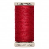 Col.2074 Gutermann Hand Quilt 200m Deep Red