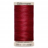 Col.2453 Gutermann Hand Quilt 200m Red