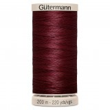 Col.2833 Gutermann Hand Quilt 200m Red Wine