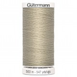 Col.722 Gutermann SA 500m White Coffee