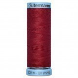Col.367 Gutermann Silk 100m Christmas Red