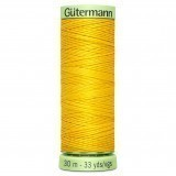 Col.106 Gutermann TopStitch 30m Yellow