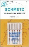 Schmetz Embroidery Needle Size 90/14 - Pack 5