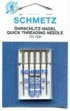 Schmetz Quick Threading Needle Size 80/12 - Pack 5
