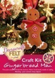 Felt Craft Kit - Gingerbread Man