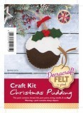 Felt Craft Kit - Christmas Pudding