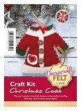 Felt Craft Kit - Mrs Claus Coat