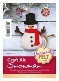 Felt Craft Kit - Snowman