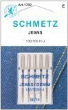 Schmetz Jeans Needle Size 90/14  - Pack 5