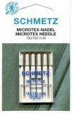 Schmetz Microtex  Sewing Machine Needles Size 70/10  - Pack 5