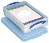 Plastic Storage Box With Click Close Lid 6L