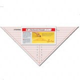 Sew Easy Ruler - 90 Degree Triangle -7.5 x 15.5in