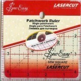 "Sew Easy Ruler Square 4.5"" x 4.5"""