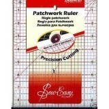 "Sew Easy Ruler 12"" x 6.5"""