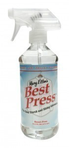 Mary Ellen - 6oz Best Press Spray Scent Free.  NON Aerosol