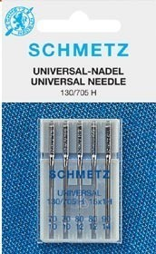Schmetz Universal Mixed 70-100 - Pack 5