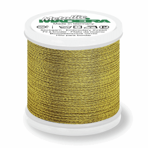 Col.GOLD38 Madeira Metallic 12 40m