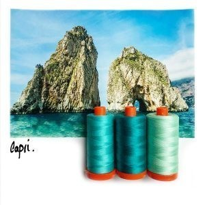 Aurifil Color Builder -CAPRIS