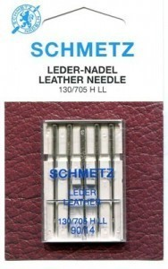 Schmetz Leather Sewing Machine Needles Size 90/14 - Pack 5