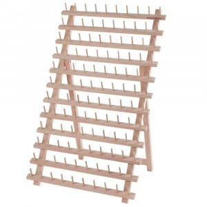 Wooden Thread Rack 120 Pins - Fully Assembled