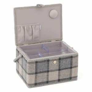 HobbyGift Sewing Box Large - Check