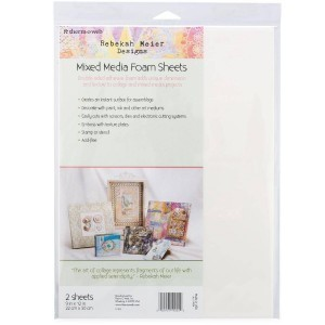 "Rebekah Meier - Mixed Media Foam Sheets  9"" x 12"" x 2 sheets per Pack"