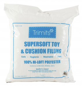 Toy Filling 500g Supersoft Polyester Safe Hygienic & Washable White