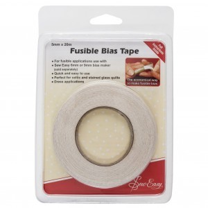 Sew Easy Fusible Bias Tape - 20m x 5mm