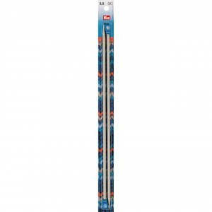 Prym Single-Pointed Knitting Pins - 35cm/5.5mm