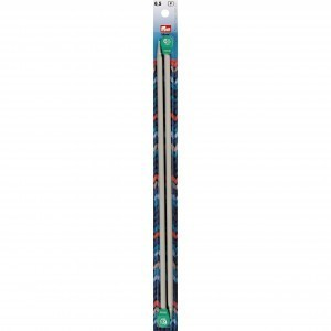 Prym Single-Pointed Knitting Pins - 35cm/6.5mm