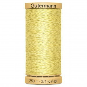 Col.0349 Gutermann Cotton 250m Pale Yellow