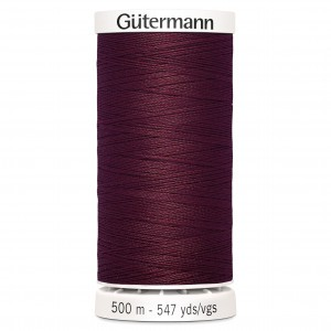 Col.369 Gutermann SA 500m Light Burgandy