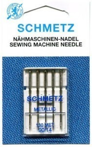 Schmetz  Metallic Needles Size 90/14 - Pack 5