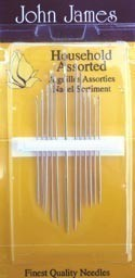 50 Assorted needles and threader