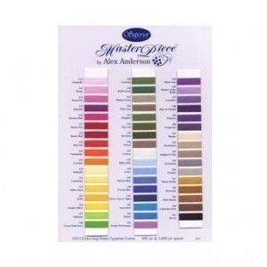 Masterpiece Shadecard 75 Colours