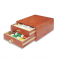 Madeira Mini Treasure Chest Cotona 50 - 30 x 1000m Reels - Teak