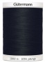 Col.000 Gutermann SA 1000m Black